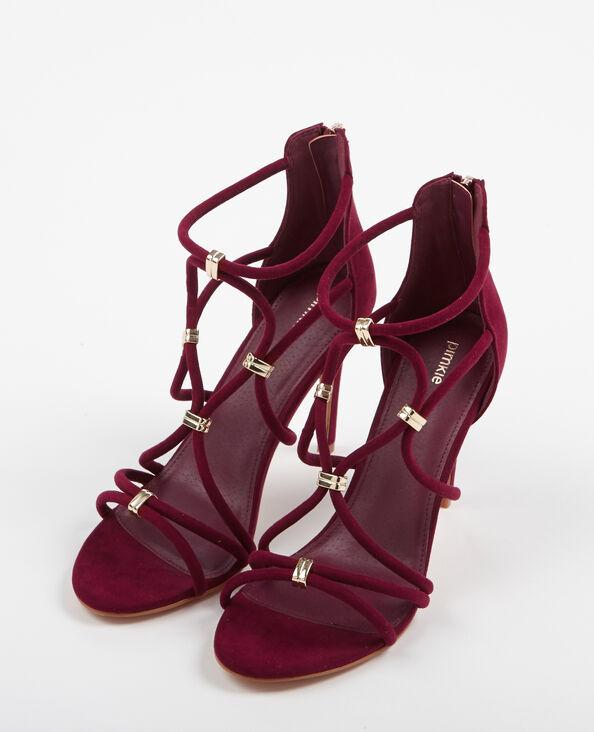 Sandali con i tacchi Granata
