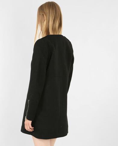 Cappotto media lunghezza nero