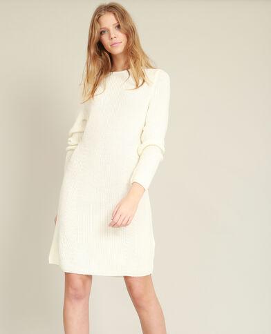 Abito pull bianco