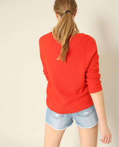 Pull ampio rosso