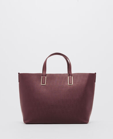 Grande borsa shopping Granata