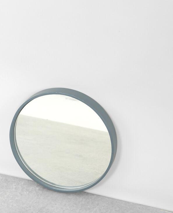 Piccolo specchio rotondo acquamarina