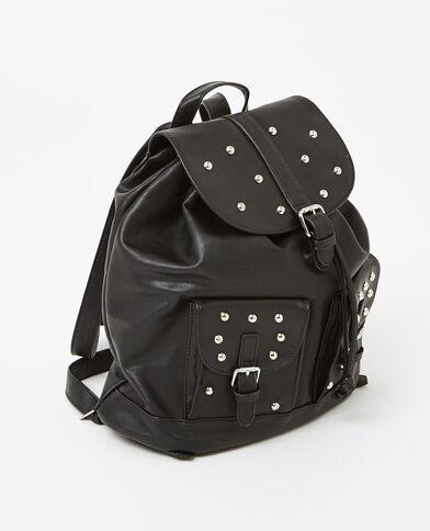 Zainetto con borchie nero