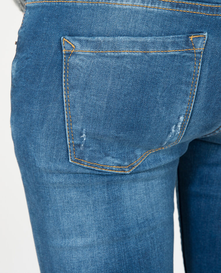 Jeggings destroy blu scuro