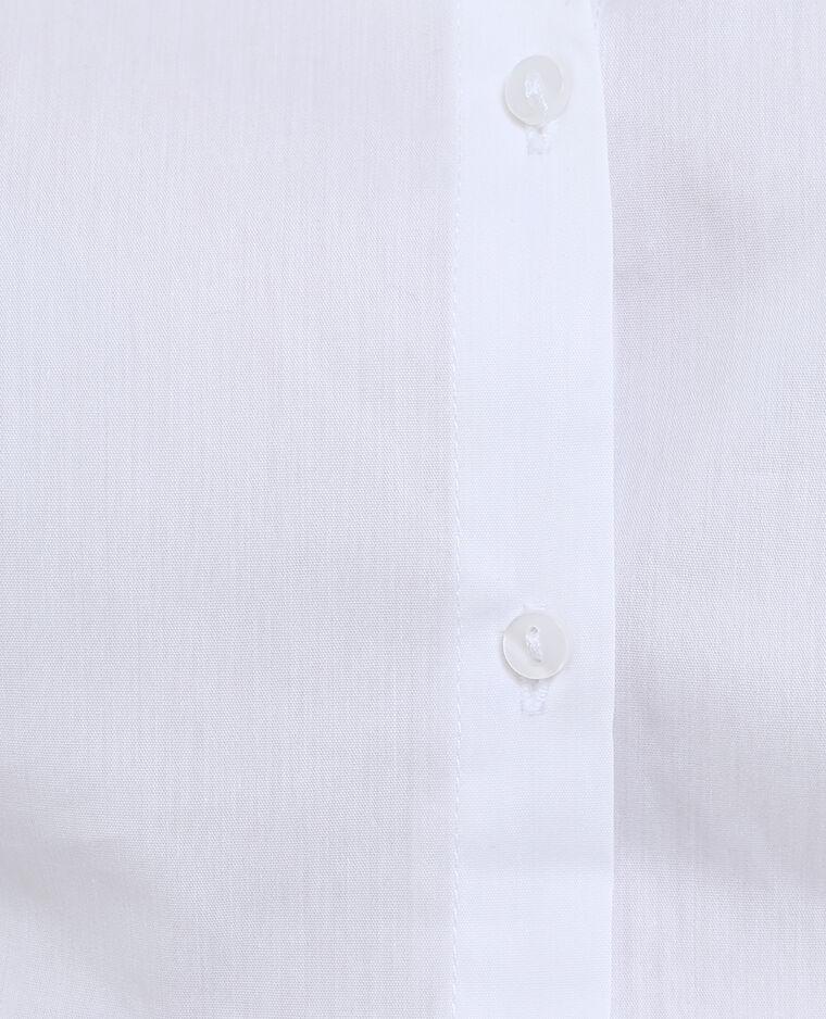Camicia bianca bianco