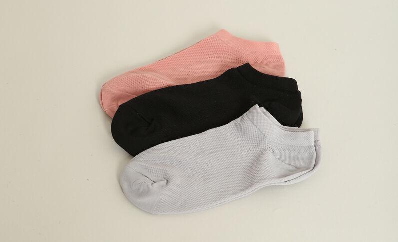 Lotto da 3 paia di calze nero