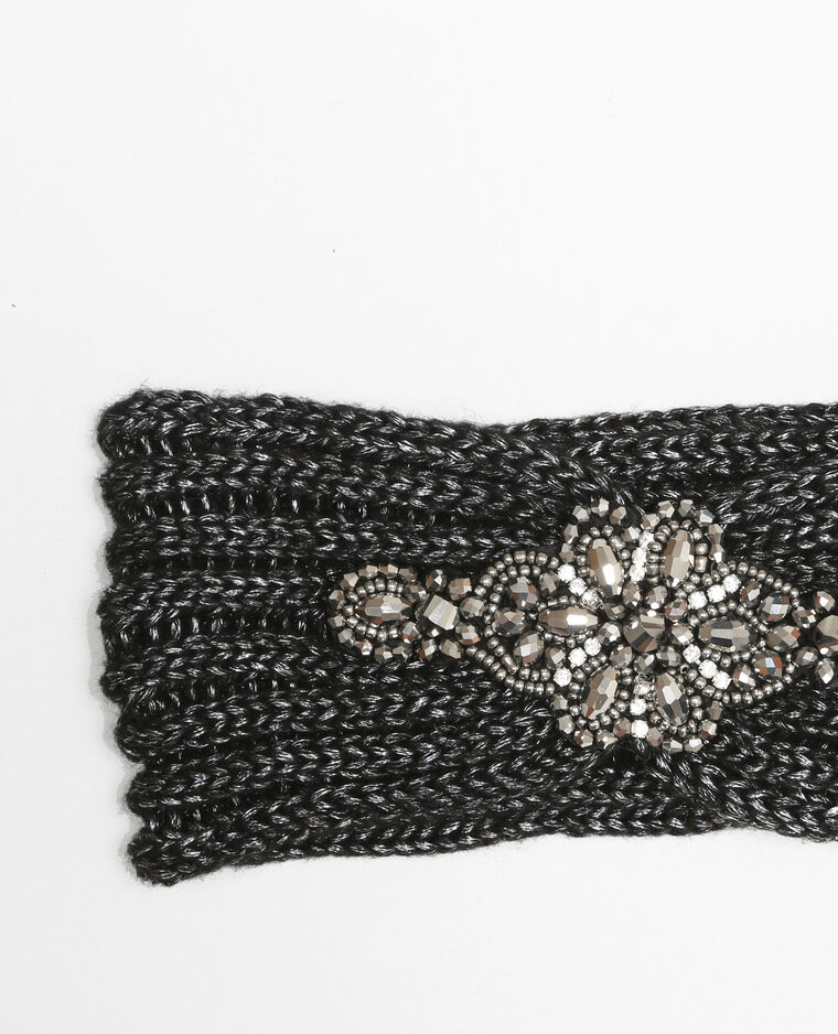 Fascia gioiello nero