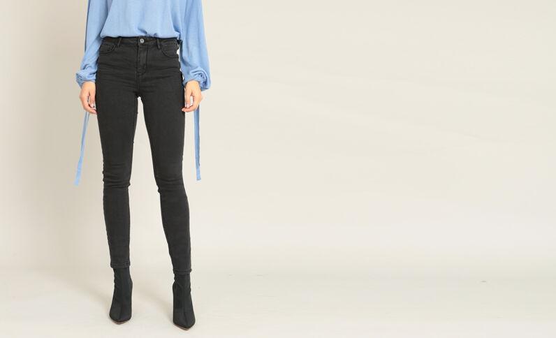Jeans push up nero