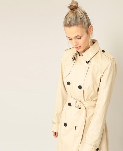 Trench coat beige corda