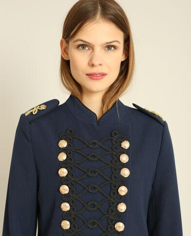 Giacca da ufficiale blu marino