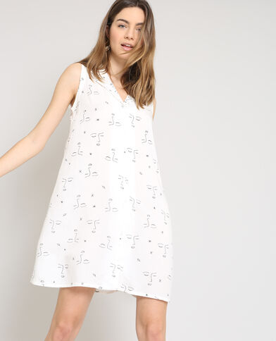 Abito camicia bianco
