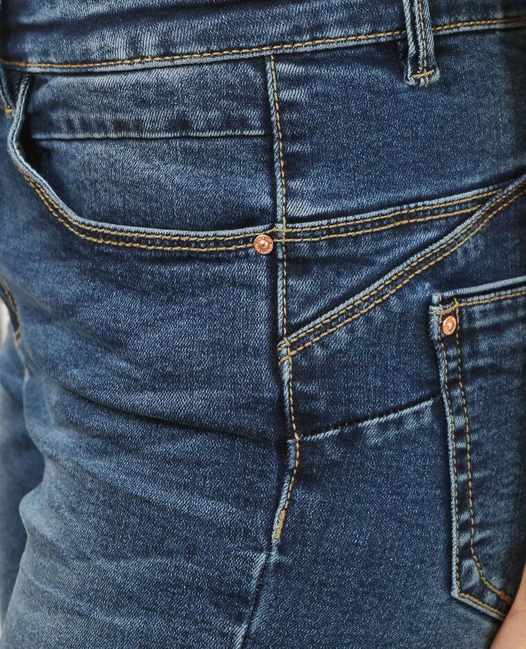 Jeans skinny push up blu denim