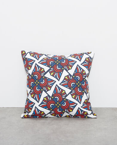 Federa per cuscino con motivi blu