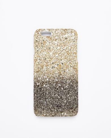 Custodia paillettes compatibile iPhone 6/6S dorato