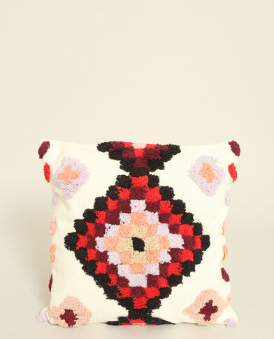 Federa per cuscino colorata Rostrot