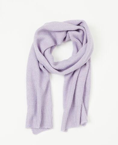 Sciarpa in maglia parme