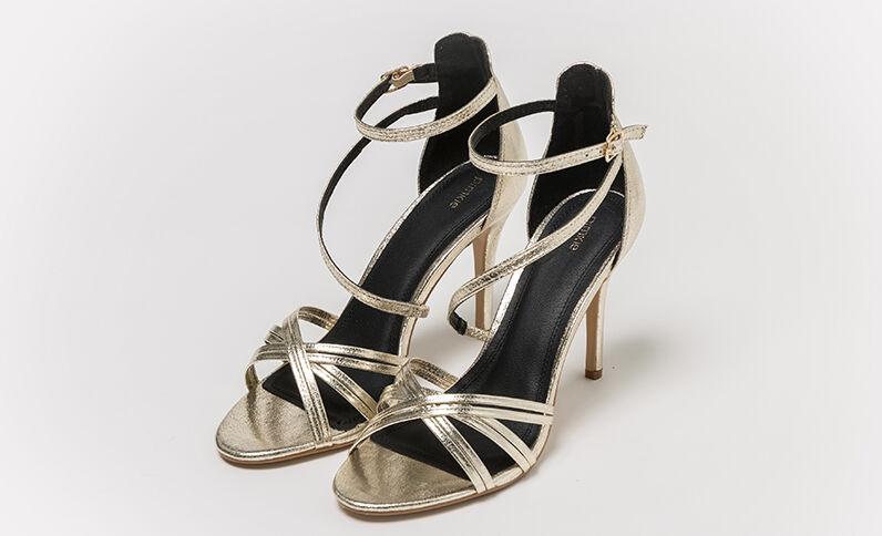 Sandali dorati dorato