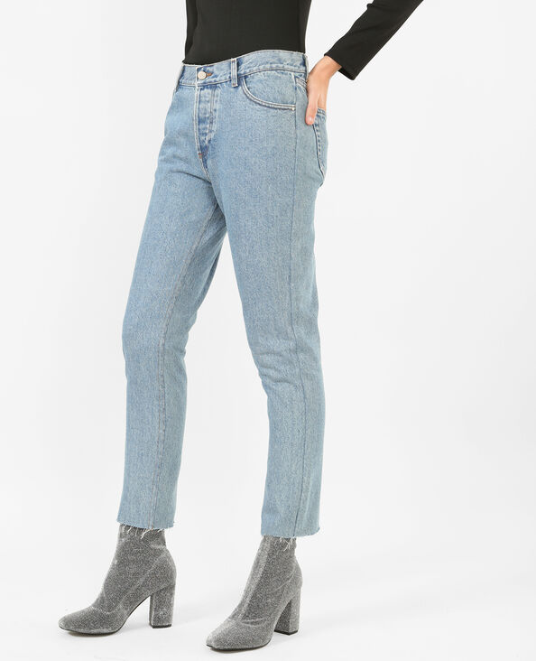 Jeans mum blu