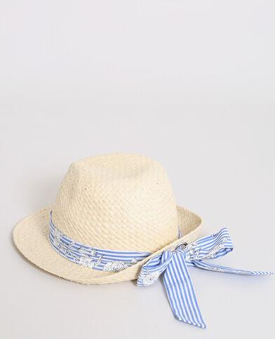 Panama in paglia beige corda