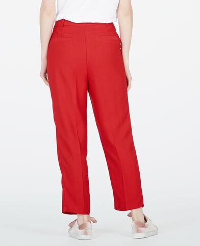 Pantalone city Rosso