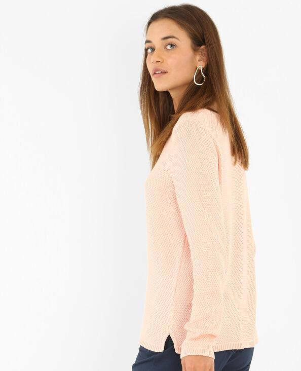 Pull maglia fantasia rosa