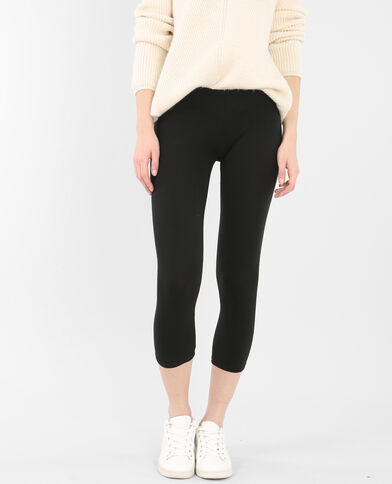Leggings corto nero