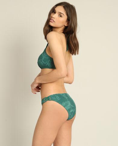 Pezzo sotto di bikini verde abete