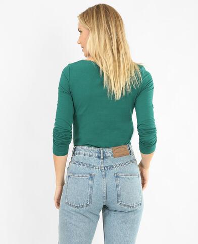 - T-shirt maniche lunghe verde