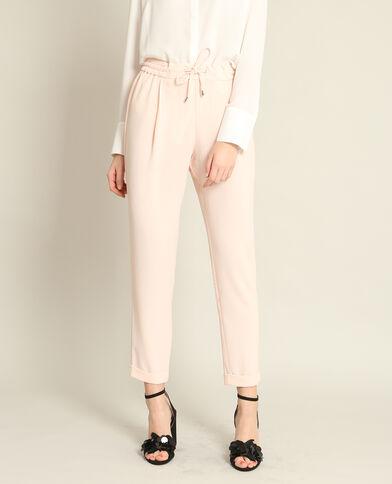 Pantalone da jogging morbido rosa