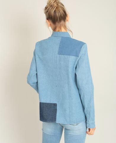 Camicia in jeans blu