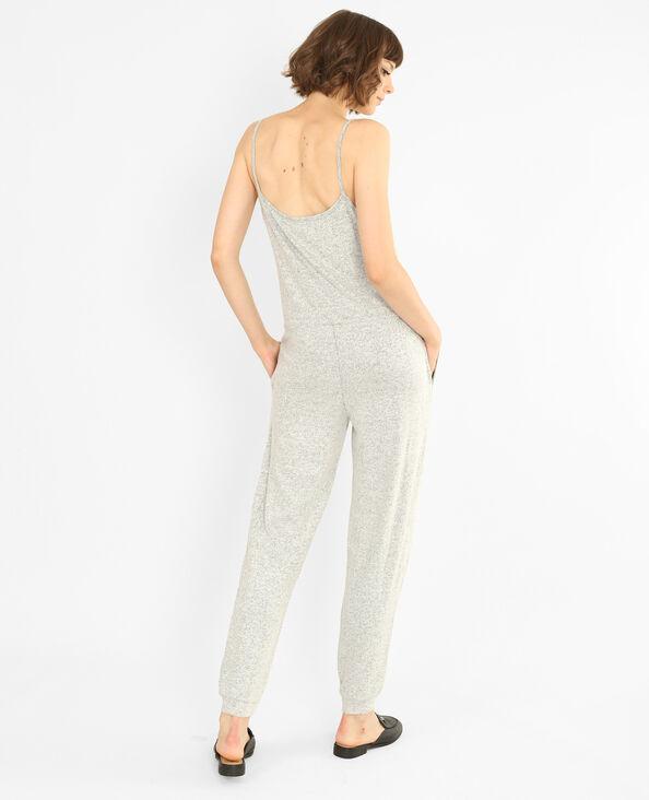 Abito pantalone molto morbido grigio
