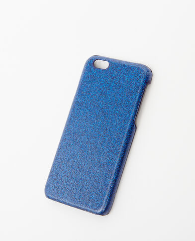 Custodia morbida compatibile iPhone 6/6S blu elettrico