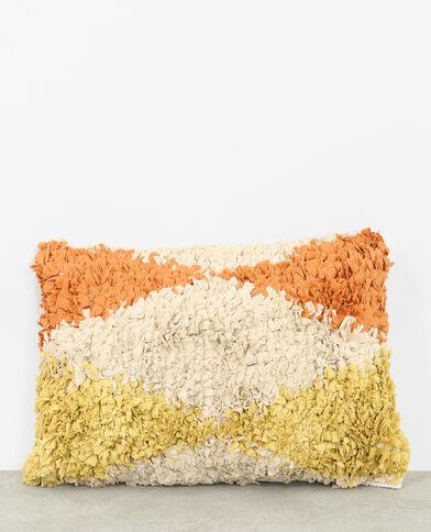 Grande cuscino multicolore beige