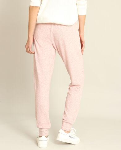 Pantalone da jogging molto morbido rosa