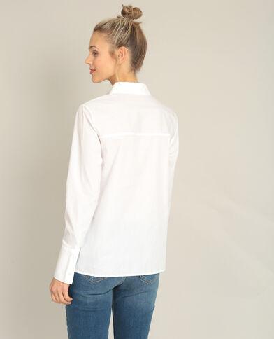 Camicia da annodare bianco