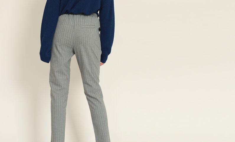 Pantalone morbido grigio