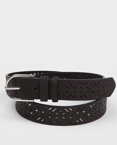 Cintura traforata nero