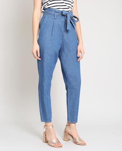Pantalone city blu
