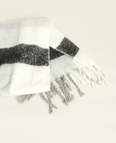 Sciarpa calda grigio