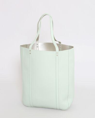 Shopper double face verde