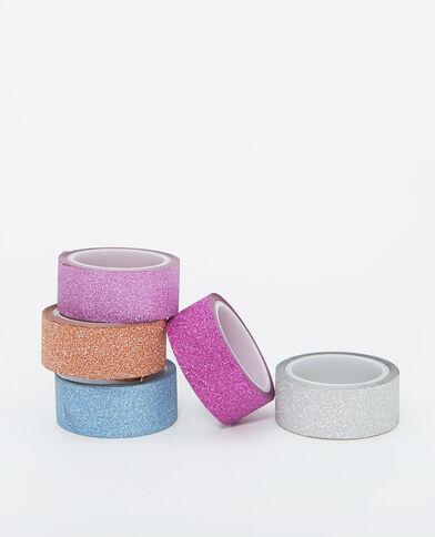 Lotto da 5 masking tape rosa
