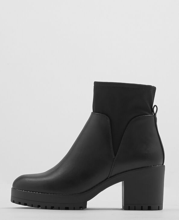 Boots con i tacchi nero