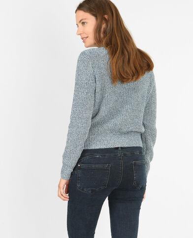 Pull in maglia spessa Blu