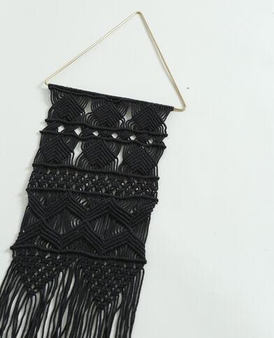 Piccola tappezzeria da parete nero
