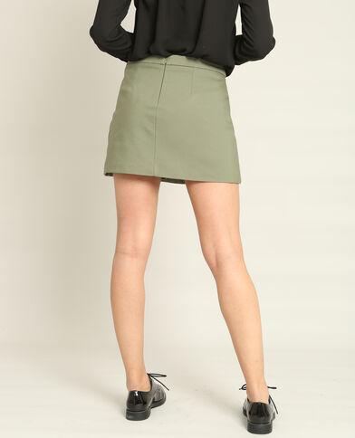 Minigonna short verde