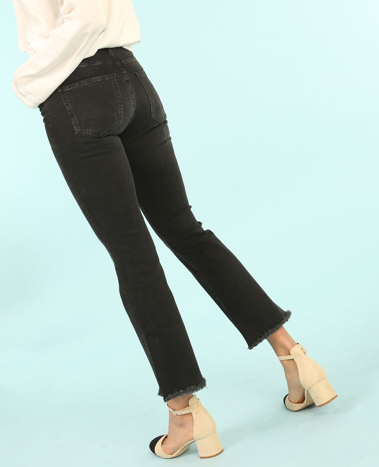 Jeans kick flare nero