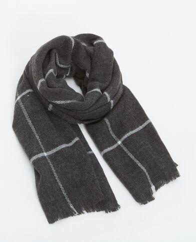 Grande sciarpa grigio