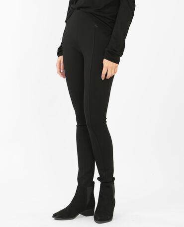 Leggings elasticizzato nero