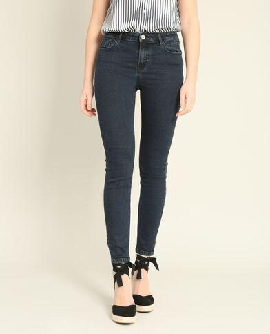 Jeans push up blu