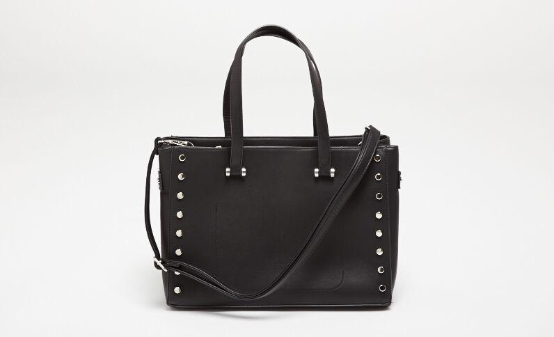 Grande borsa shopping nero